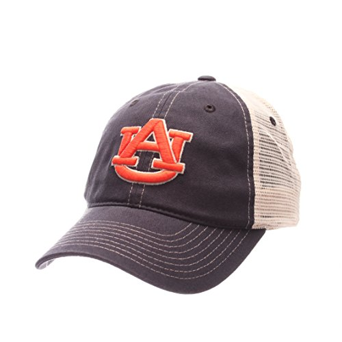 Ncaa Auburn Tigers Mens Side Out Relaxed Cap  Adjustable  Multicolor