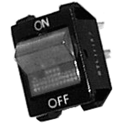 Vulcan Hart 819871-2 Switch On/Off Blk Rocker W/Red Light On/Off For Vulcan Grill Edc Gdc Rtsg 421714 ()