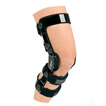 956535f223 Image Unavailable. Image not available for. Color: DonJoy Fource Point  Ligament Knee Brace ...