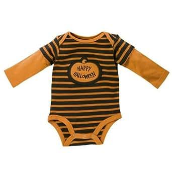 Bootiful Baby - Baby's First Halloween Applique Onesie/bodysuit (6-9 Months)