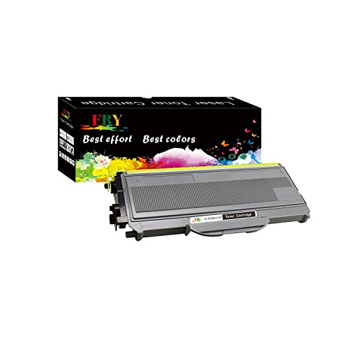 EBY Compatible Toner Cartridge Replacement for Brother TN360 TN-360 TN330 TN-330 HL-2140 HL-2170W DCP-7040 MFC-7340 MFC-7345N Printers (Black, 1-Pack, High Yield)