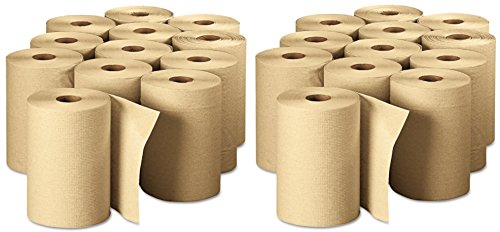 Georgia Pacific Professional 26401 Non-Perforated Paper Towel Rolls, 7-7/8'' x 350', Brown (Pack of 12) by Georgia Pacific Professional