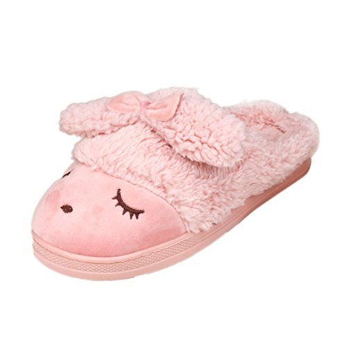 Soft Warm Watermelon Red Boots Shoes Cotton Home Slip Bowknot Anti Winter Egmy Slippers Women's Indoor p1Atff