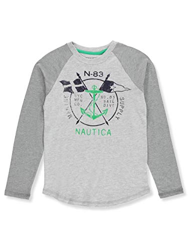 Nautica Little Boys' L/S T-Shirt - Gray Heather, ()