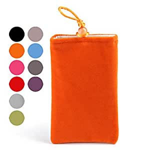 Soft Pouch Bag for iPhone (All Models) , Red