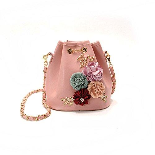 Hombro Bolsas Laidaye Para Embragues onesize Bolso De Moda Pink Mujeres Señoras Compras Bolsa Las Mochila Bolsos de black O8BxpqO4