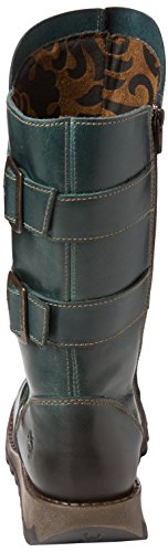 Stivali London Sack785fly Donna Motociclista 005 Fly da Blu Petrol ZE4xw4On