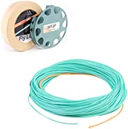 Maxcatch Fly Line Weight Forward WF2/3/4/5/6/7/8F 80-100F with 2 Welded Loop Special Design for Fly Fishing