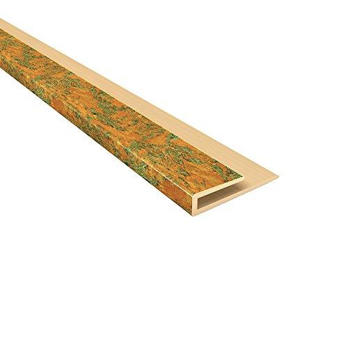 "FASÄDE Easy Installation Traditional 1 Copper Fantasy Glue Up Ceiling Tile/Ceiling Panel (48"" J-Trim)"