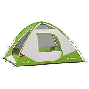 Columbia Sportswear Pinewood 4 Person Dome Tent (Fuse Green) by Columbia