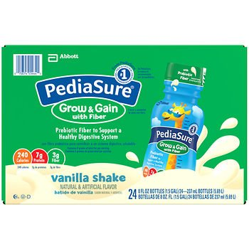 PediaSure Vanilla Shake with Fiber, 24 pk./8 oz. AS