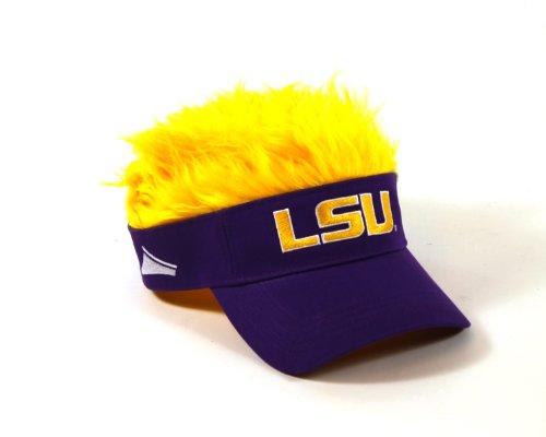 UPC 804371583540, NCAA LSU Tigers Flair Hair Visor, Purple