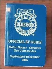 kelley blue book official rv guide motor homes campers van conversions september december. Black Bedroom Furniture Sets. Home Design Ideas