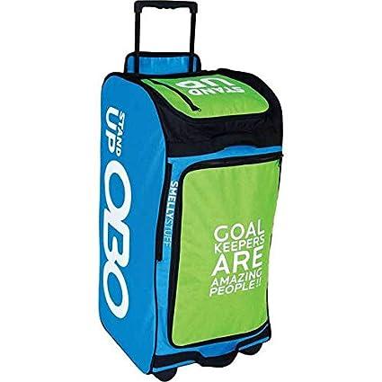 Amazon Com Obo Stand Up Wheelie Field Hockey Goalie Bag Field