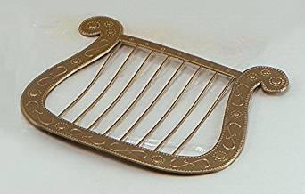Bristol Novelty BA221 Angel Harp Gold, One -