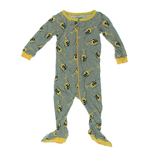 Leveret Baby Boys Footed Pajamas Sleeper 100% Cotton Kids   Toddler Pjs  Sleepwear (3 735056164