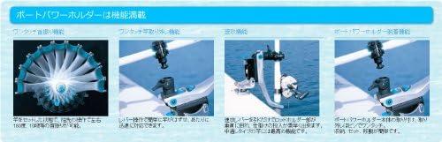 REGAR MARINE(リガーマリン) NO.217.5 レール用パワーホルダー速攻 (レッド) ボートパワーホルダー