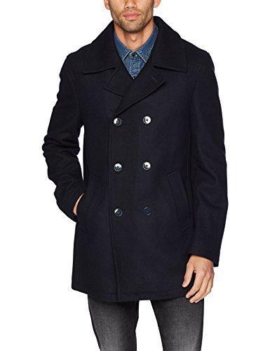 Calvin Klein Men's Maurizio Peacoat, Navy, 46 Short - Short Peacoat