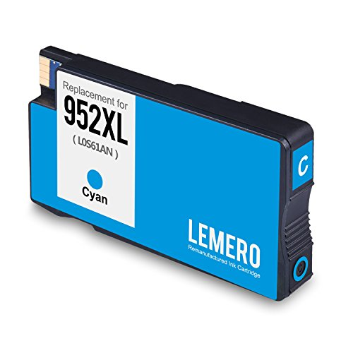 Lemero Replacement for 952XL Remanufactured Ink Cartridge ( 1 Set + 1 Black ) Compatible with Officejet pro 8210 8710 8715 8720 8725 8730 8740 series printer Photo #2