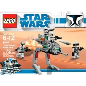Star Wars Clone Scout Walker (LEGO Star Wars Clone Walker Battle Pack (8014) 72 pieces)