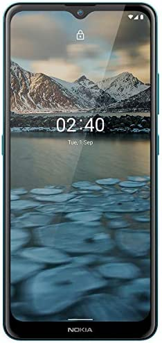 Nokia 2.4 Android 10 Smartphone with Large HD+ Screen, Night Mode and Portrait Mode, 2-Day Battery Life   Fjord Blue