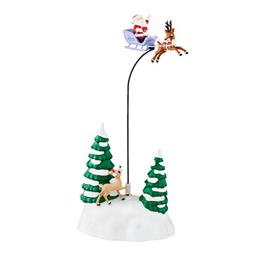 Department 56 Accessories for Villages Up and Away with Rudolph Accessory Figurine