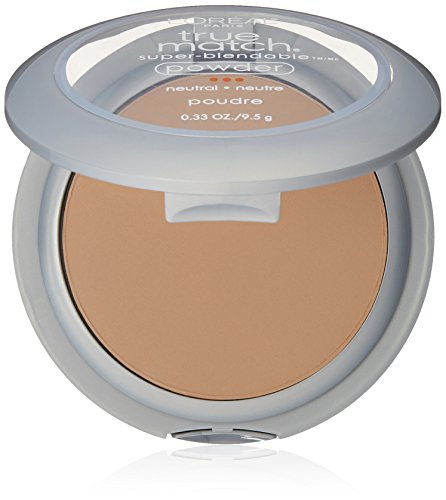 Match Natural - L'Oréal Paris True Match Super-Blendable Powder, Natural Buff, 0.33 oz.