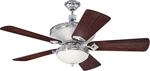 Craftmade K11253 Saratoga Ceiling Fan with Premier Hand-Scra