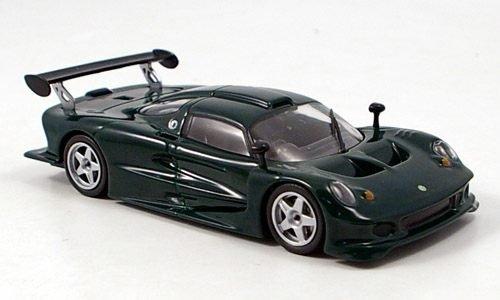 Modellauto MCW-SC03 1:43 Lotus Elise GT1 Fertigmodell dkl.-gr/ün