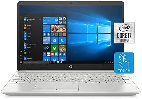 2020 HP Pavilion 15.6″ HD Touchscreen Laptop Computer, Intel Core i7-1065G7, 16GB RAM, 512GB PCIe SSD, Backlit Keyboard, HD Audio, HD Webcam, Intel Iris Plus Graphics, Win 10, Silver, 32GB USB Card 41lE7cVipRL