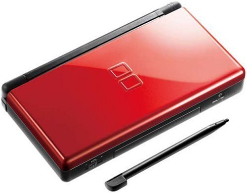 Nintendo DS Lite Console Handheld System Black and Red / Refurbished