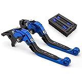 FXCNC Racing MT07 Palancas de embrague de freno de freno ajustable extensibles de aluminio CNC para