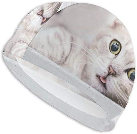 Grumpy Cat NO Funny Girls Pocket Cool Elastic Medium Length Swimming