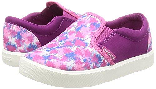 Crocs Kids' Citilane Novelty K Slip-on, Pink Palm, 12 M US Little Kid by Crocs (Image #5)