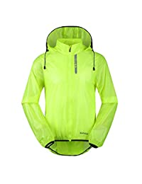 Santic Men's Cycling Skin Coat Jersey Bicycle Windproof Jacket Rain Coat
