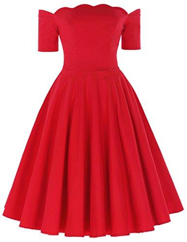 50s style dress wedding - 8
