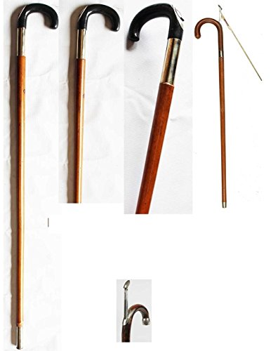 ProRider USA Horse Farrier Tool Measuring Stick Bamboo Walking Cane Antique Rattan 98480 (Rattan Antique)