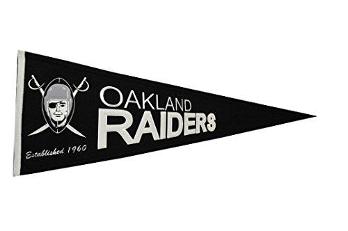 Winning Streak NFL Oakland Raiders Throwback Pennant