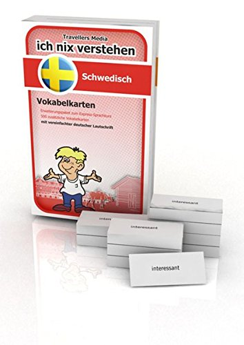 Ich nix verstehen - Erweiterungspaket Vokabelkarten Schwedisch: Erweiterungssatz zum Schwedisch-Sprachkurs. 500 Vokabelkarten mit vereinfachter deutscher Lautschrift