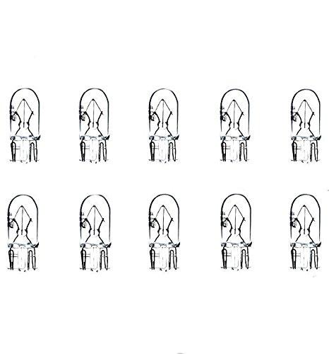 INNEN FUSSRAUMBELEUCHTUNG Jurmann/® LongLife /& Ersch/ütterungsfest 10x W5W T10 12V 5W W2,1x9,5d LAMPEN 10 ST/ÜCK STANDLICHT POSITIONSLICHT KENNZEICHEN