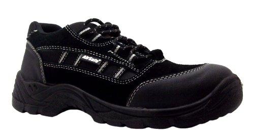 AirSafe  As-c6, Chaussures de ville à lacets pour homme Noir noir