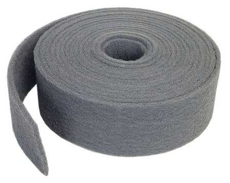 Abrasive Roll, 4''W x 30 ft. L, 400 to 600G by Norton Abrasives - St. Gobain