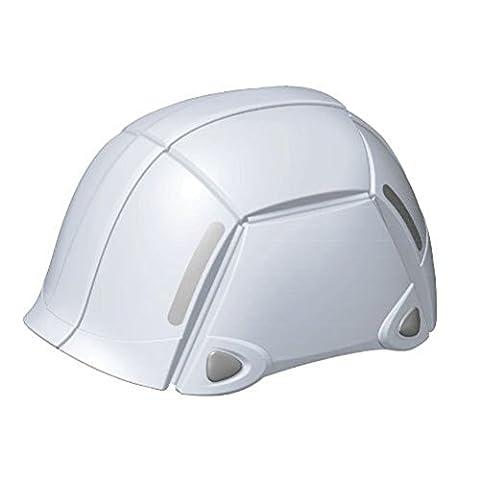 Folding Helmet Bloom No.100. Color White - Folding Bike Helmet