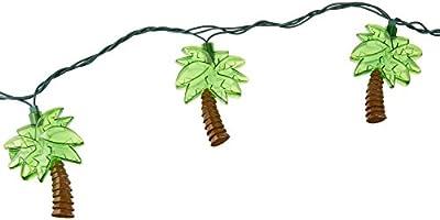 Amscan Palm Tree Patio String Lights, 6-Feet