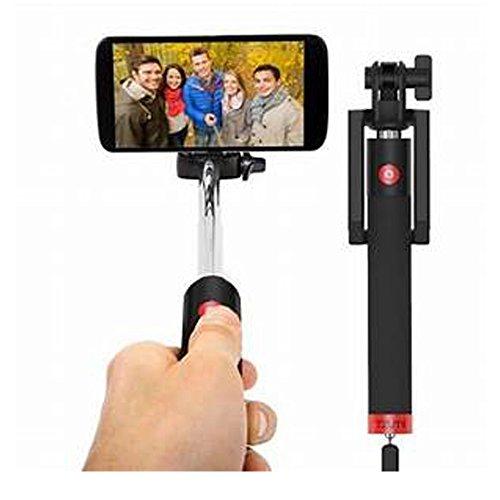 Tzumi Electronics Selfie Stick, Self-Portrait Monopod with Bluetooth Remote