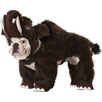 Animal Planet Wooly Mammoth Dog Costume, X-Small, Brown