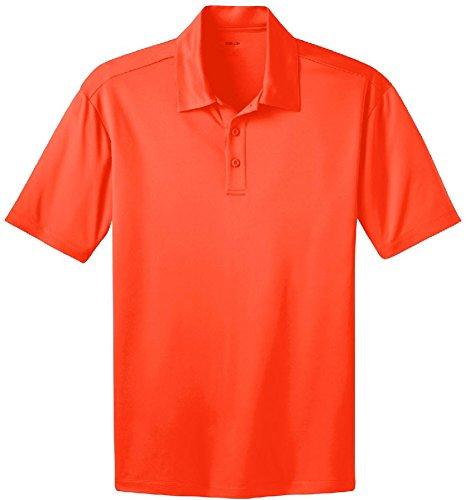 Neon Silk - Joe's USA(tm Men's Silk Touch Golf Polo's,2XL-Neon Orange