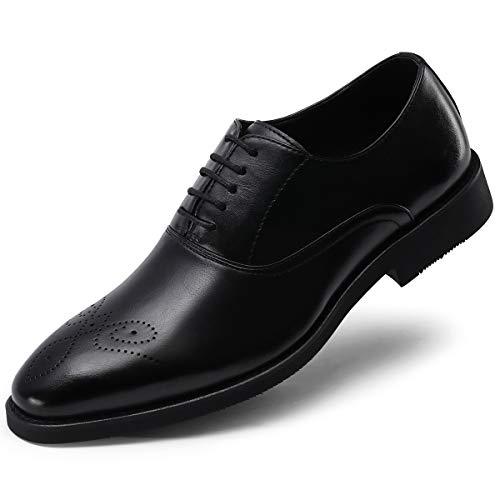 Men's Formal Dress Shoes Classic Oxfords Lace Up Decorative Plain Toe Black 10.5