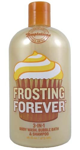Price comparison product image Bath & Body Works Temptations Frosting Forever 3 in 1 Body Wash, Bubble Bath, & Shampoo 16 oz