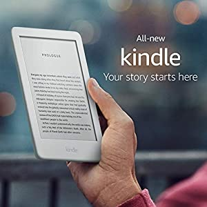 All-new Kindle, now with a built-in front light - White